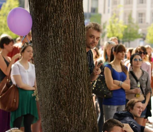 NLĮF pristatymas per Gatvės muzikos dieną