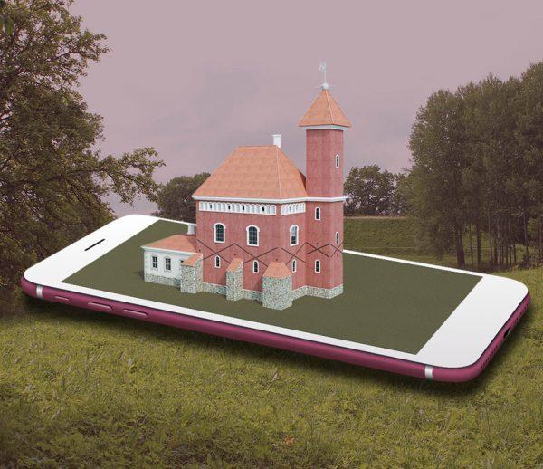 Dubingių piliavietės papildytosios realybės aplikacija