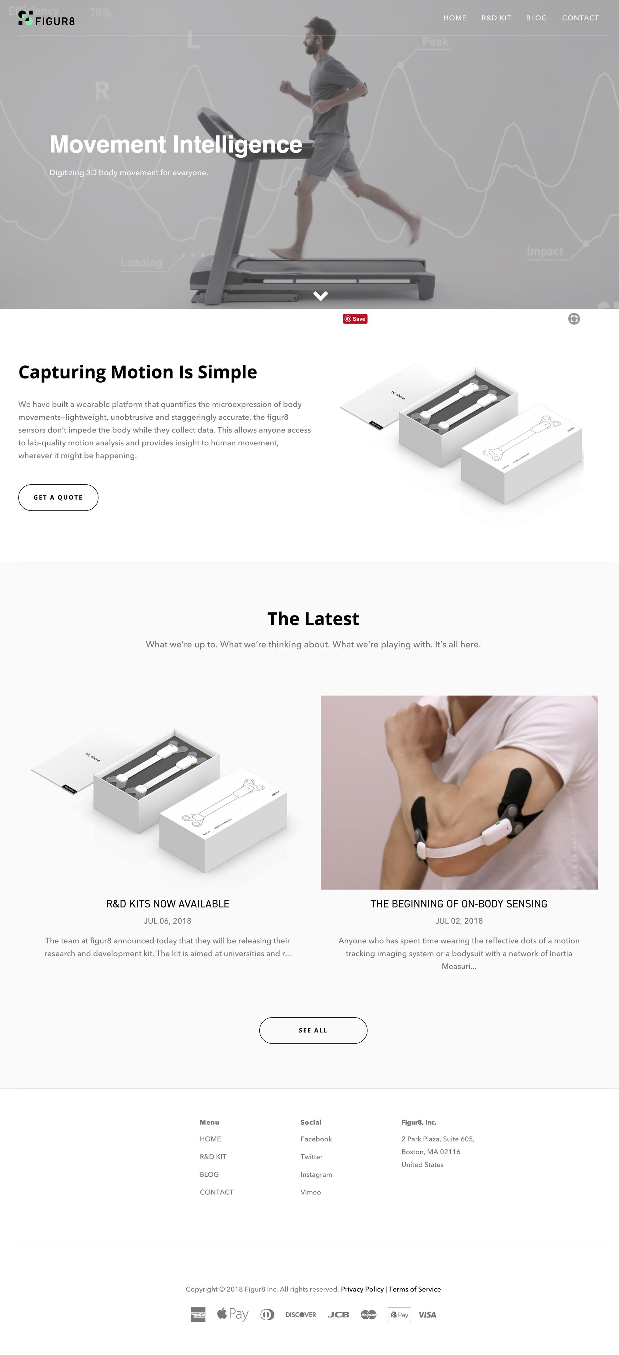 figur8 webpage
