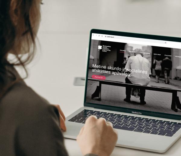 NSMOT internetinė svetainė